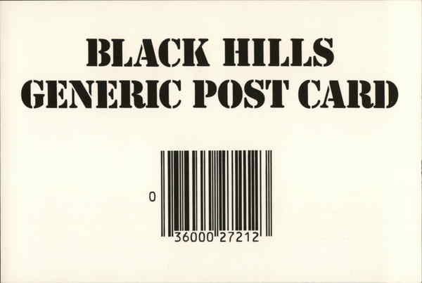 Black Hills Generic Post Card South Dakota