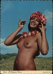 Raire' - A Typical Polynesian Beauty