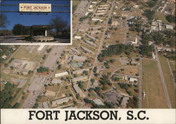 Army Basic Training Center Fort Jackson, SC Postcard