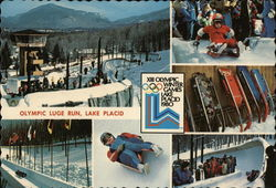 Olympic Luge Run, Lake Placid