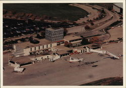 Greater Peoria Airport - Terminal Building & Control Tower Postcard