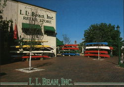 L.L. Bean, Inc. Retail Store Postcard