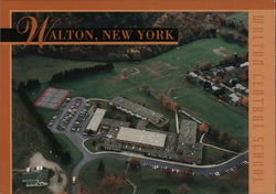 Walton Central School Postcard