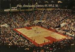 New Mexico State University - Pan American Center Postcard