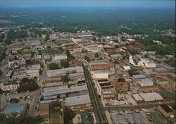 Aerial View of Downtown Looking West