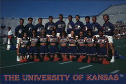 The 1993-94 University of Kansas Cheerleaders