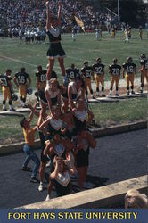 Fort Hays State University Cheerleaders