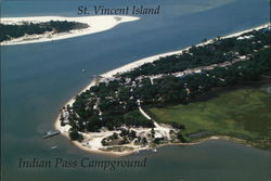 St. Vincent Island, Indian Pass Campground