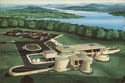 Duke Power's Keowee-Toxaway Visitors Center Postcard