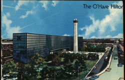 The O'Hare Hilton Postcard