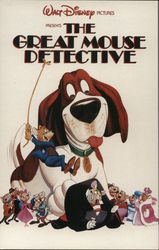 "Promotional Card for Walt Disney Pictures' ""The Great Mouse Detective"""