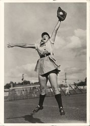 Jane Stoll, All American Girls Professional Baseball League, 1940's