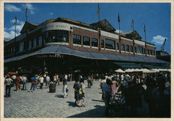 Fulton Market at South Street Seaport Postcard
