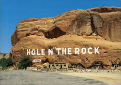 World Famous Hole In The Rock Home Postcard