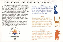 The Story of the SLOC Mascots Postcard