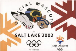 Official Mascots, Salt Lake 2002 Olympics