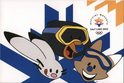 Official Mascots Salt Lake 2002