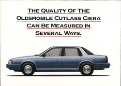Oldsmobile Cutlass Ciera Postcard