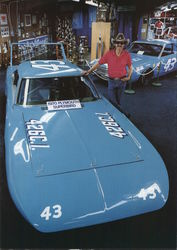 Richard Petty and his 1970 Plymouth Superbird