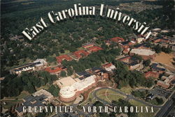 East Carolina University Postcard