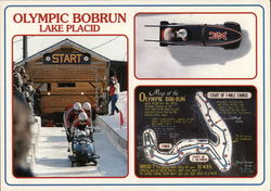 Olympic Bobrun Lake Placid