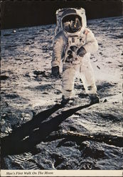 Man's First Walk on the Moon