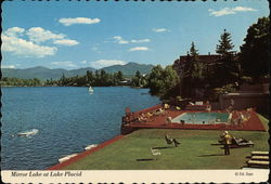 Mirror Lake at Lake Placid