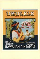 Historic Dole Can Labels