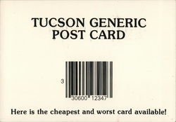 Tucson Generic Post Card
