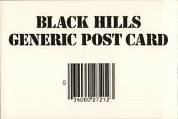 Black Hills Generic Post Card