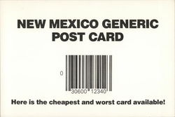 New Mexico Generic Post Card