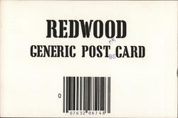 Redwood Generic Post Card
