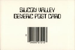 Silicon Valley Generic Post Card