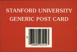 Stanford University Generic Post Card