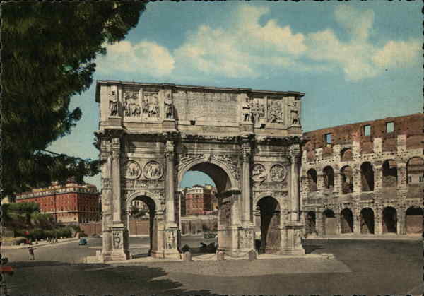 Arch of Costantino Rome Italy