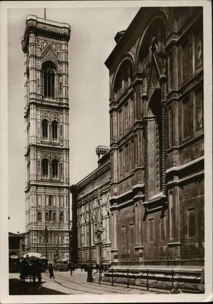 Cathedral and Bell Tower Florence Italy