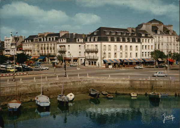 View of the Town Concarneau France