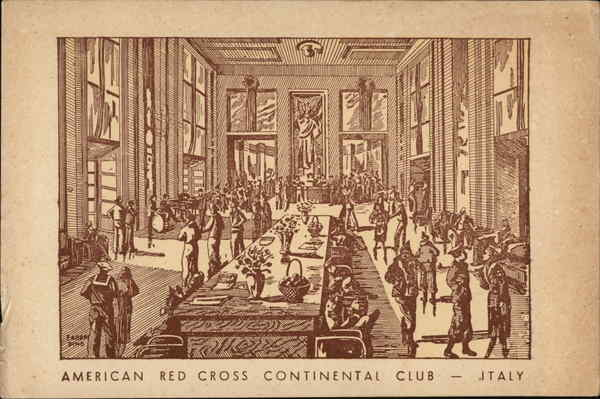 American Red Cross Continental Club - Italy