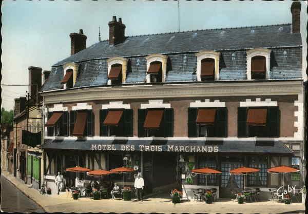 L'Hotel des Trois Marchands