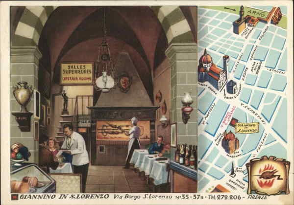 Giannino in S. Lorenzo Restaurant