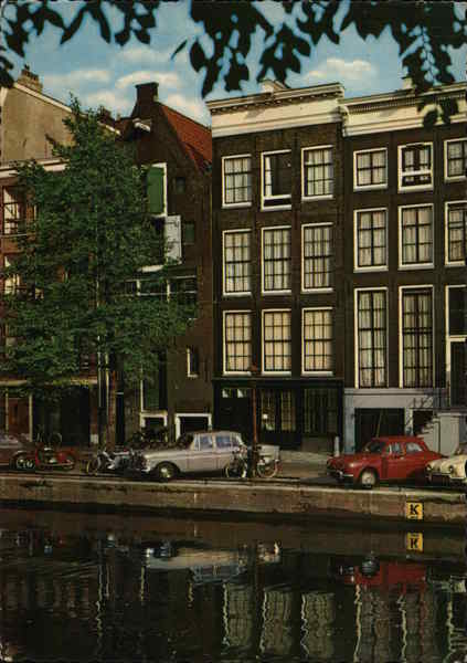 The house of Anne Frank Amsterdam The Netherlands Benelux Countries