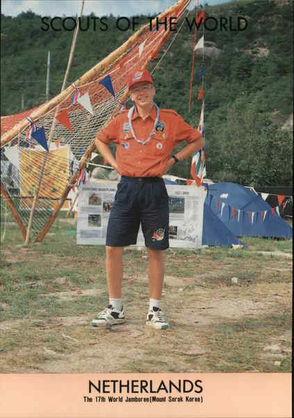 1991 Scouts of the World: Netherlands Benelux Countries