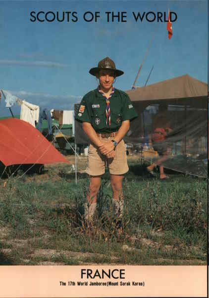 1991 Scouts of the World: France Boy Scouts
