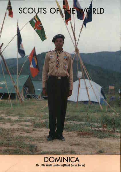 1991 Scouts of the World: Dominica Caribbean Islands