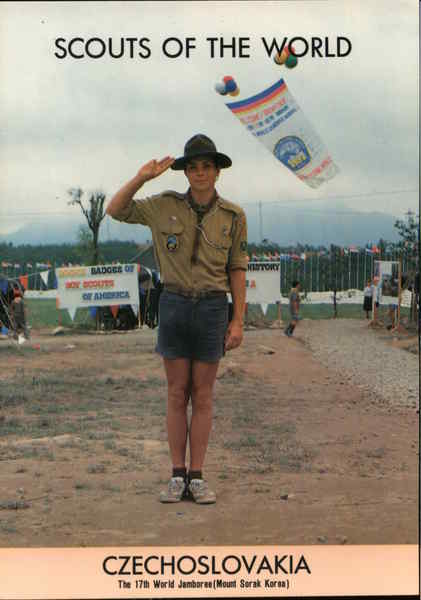 1991 Scouts of the World: Czechoslovakia Eastern Europe