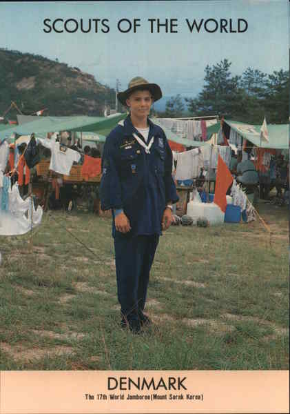 1991 Scouts of the World: Denmark Boy Scouts