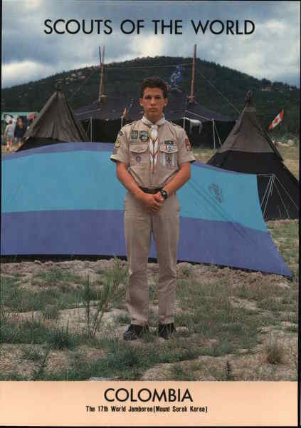 1991 Scouts of the World: Colombia South America Boy Scouts