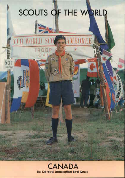 1991 Scouts of the World: Canada Misc. Canada Boy Scouts
