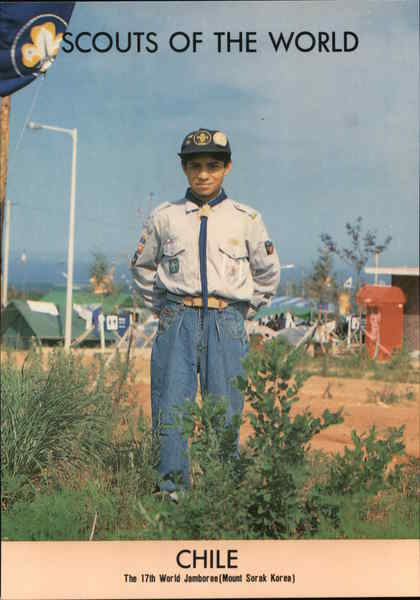 1991 Scouts of the World: Chile Boy Scouts