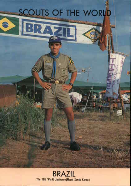 1991 Scouts of the World: Brazil Boy Scouts